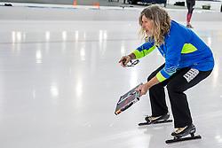 11-12-2016 NED: ISU World Cup Speed Skating, Heerenveen<br /> Peter Mueller coach