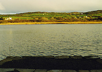 Evening lakeside view West Cork Ireland