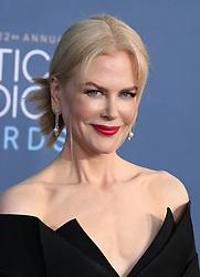 Nicole Kidman, The 22nd Annual Critics Choice Awards at Barker Hangar (Santa Monica, CA.)