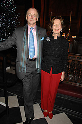 MR & MRS SIMON PARKER BOWLES at a carol concer 'Carols From Chelsea - A Celebration of Christmas' held at the Royal Hospital Chapel, Chelsea in aid of The Institute of Cancer Research on 4th December 2007.<br />