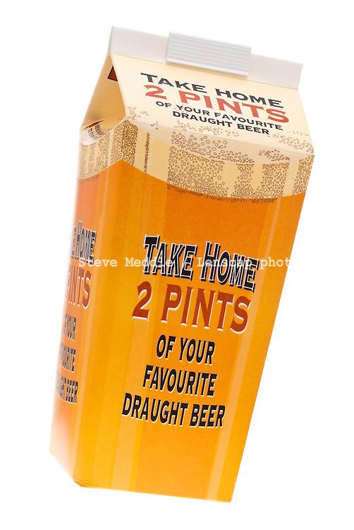 Take Away Beer Carton - 2010