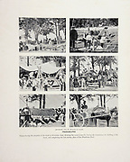 """Work in Riverside Park from The American Civil War book and Grant album : """"art immortelles"""" : a portfolio of half-tone reproductions from rare and costly photographs designed to perpetuate the memory of General Ulysses S. Grant, depicting scenes and incidents in connection with the Civil War Published  in Boston and New York by W. H. Allen in 1894"""