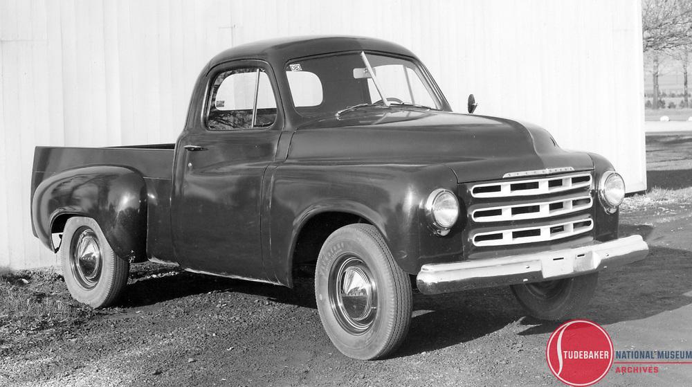 "Studebaker's ""R"" series truck prototype, c. 1946."