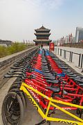 Xian City Wall, Xian, Shaanxi Province, China