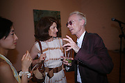 Jill Ritblat and Anthony Fawcett. 40th anniversary party. Modern Art Oxford. 14 July 2005. ONE TIME USE ONLY - DO NOT ARCHIVE  © Copyright Photograph by Dafydd Jones 66 Stockwell Park Rd. London SW9 0DA Tel 020 7733 0108 www.dafjones.com