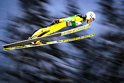16.12.2017, Gross Titlis Schanze, Engelberg, SUI, FIS Weltcup Ski Sprung, Engelberg, im Bild Junshiro Kobayashi (JPN) // Junshiro Kobayashi of Japan during Mens FIS Skijumping World Cup at the Gross Titlis Schanze in Engelberg, Switzerland on 2017/12/16. EXPA Pictures © 2017, PhotoCredit: EXPA/JFK