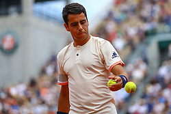 May 30, 2018 - Paris, U.S. - PARIS, FRANCE - MAY 30: JAUME MUNAR (ESP) during day four match of the 2018 French Open 2018 on May 30, 2018, at Stade Roland-Garros in Paris, France. (Photo by Chaz Niell/Icon Sportswire) (Credit Image: © Chaz Niell/Icon SMI via ZUMA Press)