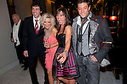 ALEX GAUMOND; SHERIDAN SMITH; JILL HALFPENNY; DUNCAN JAMES, , Savoy Theatre's Legally Blonde- The Musical,  Gala night. After-party at the Waldorf Hilton. London. 13 January 2010. *** Local Caption *** -DO NOT ARCHIVE-© Copyright Photograph by Dafydd Jones. 248 Clapham Rd. London SW9 0PZ. Tel 0207 820 0771. www.dafjones.com.<br />