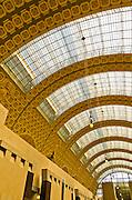Interior of Musée d'Orsay, Paris, France