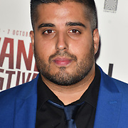 Amar Adatia attends the Raindance Opening Gala 2018 held at Vue West End, Leicester Square on September 26, 2018 in London, England.