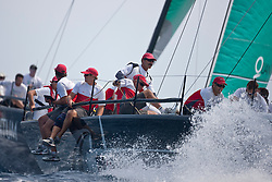 Second day of the AUDI MedCup Barcelona, Spain, 22th July 2010, Camper Regatta - Conde de Godo Trophy (21-25 July 2010) © Sander van der Borch / Artemis