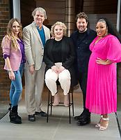 Rita Simons, Paul Merton, Lizzie Bea, Michael Ball and Marisha Wallace at the Hairspray the Musical' photocall, London, UK - 18 Feb 2020