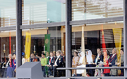 October 22, 2019, JAPAN: 22-10-2019 Inhuldiging Enthronement ceremony of Emperor Naruhito of Japan in Tokyo..Queen Letizia and King Felipe at the Imperial Palace to attend the proclamation ceremony of Japans Emperor in Tokyo, Japan..Brunei's Sultan Hassanal Bolkiah.Sweden's King Carl XVI Gustaf and Princess Victoria.Queen Mathilde and King Filip. (Credit Image: © face to face via ZUMA Press)