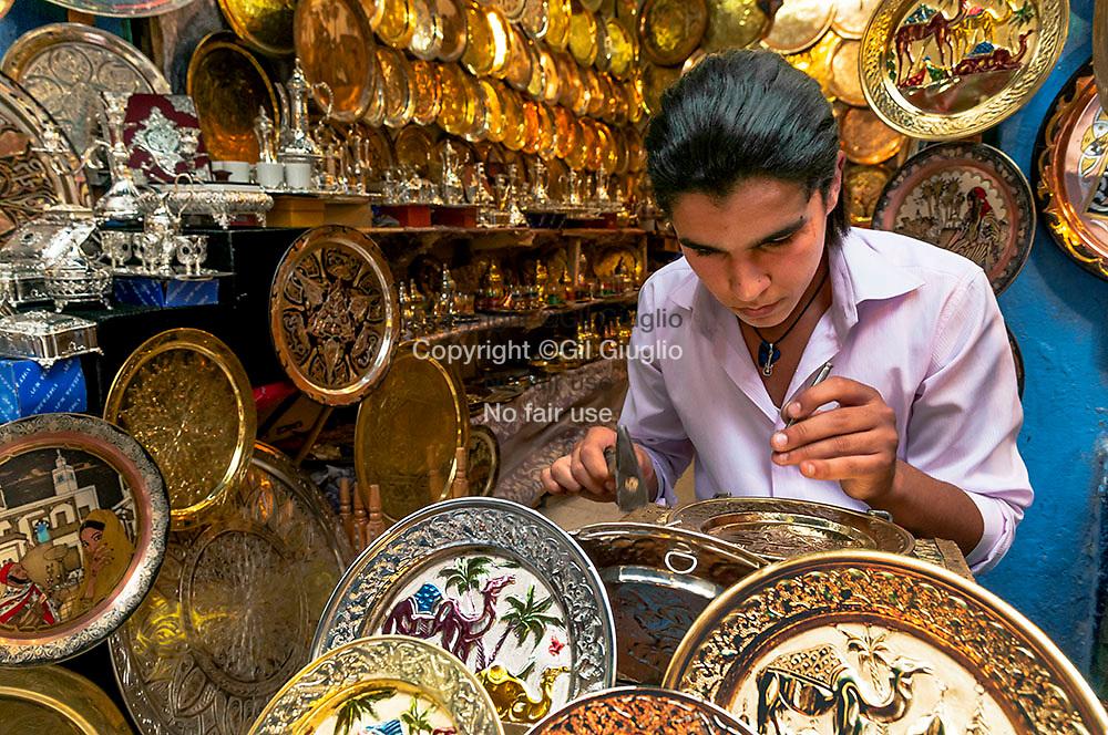 Tunisia, Tunis govenorate, Tunis, medina old city at World Patrimony of Unesco