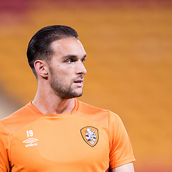 BRISBANE, AUSTRALIA - OCTOBER 13: Jack Hingert of the Roar looks on during the Round 2 Hyundai A-League match between Brisbane Roar and Adelaide United on October 13, 2017 in Brisbane, Australia. (Photo by Patrick Kearney)