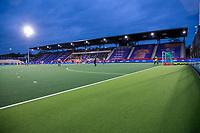 AMSTELVEEN - Wedstrijd zonder publiek   bij de Pro League hockeywedstrijd dames, Nederland - Groot-Brittannie (1-1) . Nederlands wint de shoot-outs. COPYRIGHT KOEN SUYK