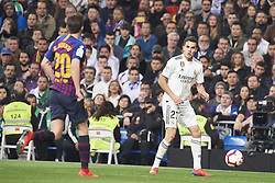 March 2, 2019 - Madrid, Madrid, Spain - Sergio Reguilon (defender; Real Madrid) in action during La Liga match between Real Madrid and FC Barcelona at Santiago Bernabeu Stadium on March 3, 2019 in Madrid, Spain (Credit Image: © Jack Abuin/ZUMA Wire)