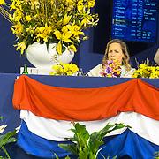 NLD/Amsterdam/20190126 - Prinses Beatrix bezoekt Jumping Amsterdam 2019, Tjaling Ten Cate , Prinses Margarita de Bourbon de Parme en Prinses Beatrix