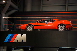 NEW YORK, USA - MARCH 23, 2016: BMW M1 on display during the New York International Auto Show at the Jacob Javits Center.