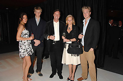 Left to right, the HON.ANTALYA NALL-CAIN, the HON.WILLIAM NALL-CAIN, LORD & LADY BROCKETT and the HON.ALEX NALL-CAIN at a party to celebrate the launch of the new Fiat Bravo held at The Roundhouse Theatre, Chalk Farm Road, London on 13th June 2007.<br /><br />NON EXCLUSIVE - WORLD RIGHTS