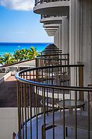 Balconies of Waikiki Beach Marriott Hotel