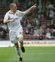 Photo: Lee Earle.<br /> Crystal Palace v Hull City. Coca Cola Championship. 06/10/2007. Hull's Dean Marney celebrates after scoring from the penalty spot.
