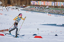 25.02.2021, Oberstdorf, GER, FIS Weltmeisterschaften Ski Nordisch, Oberstdorf 2021, Damen, Sprint, Qualifikation, Langlauf, im Bild Sofie Krehl (GER) // Sofie Krehl of Germany during the qualification for the sprint competition of women Cross Country of the FIS Nordic Ski World Championships 2021. in Oberstdorf, Germany on 2021/02/25. EXPA Pictures © 2021, PhotoCredit: EXPA/ Dominik Angerer