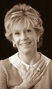 Jane Fonda, photographed for Hands on Atlanta.