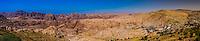 Panoramic view, Wadi Musa (Petra), Jordan.