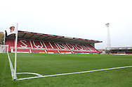 The County Ground during the Sky Bet League 1 match between Swindon Town and Coventry City, Swindon, England on 24 October 2015. Photo by Jemma Phillips.