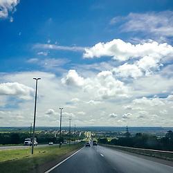 Estrada (Rodovia) fotografado em Goiás - Centro-Oeste do Brasil. Bioma Cerrado. Registro feito em 2015.<br /> ⠀<br /> ⠀<br /> <br /> <br /> <br /> <br /> ENGLISH: Road photographed in Goias - Midwest of Brazil. Cerrado Biome. Picture made in 2015.
