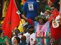 Photo: Steve Bond/Richard Lane Photography.<br /> Guinea v Morocco. Africa Cup of Nations. 24/01/2008. Morocco fans