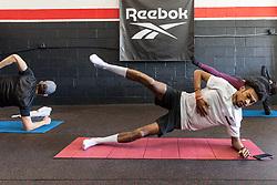 Reebok Boston Track Club<br /> home base training<br /> Justyn Knight