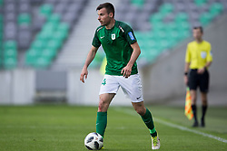 Dino Stiglec of NK Olimpija Ljubljana during football match between NK Olimpija Ljubljana and NK Triglav Kranj in Round #31 of Prva liga Telekom Slovenije 2017/18, on May 6, 2018 in SRC Stozice, Ljubljana, Slovenia. Photo by Urban Urbanc / Sportida