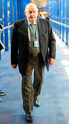 © Licensed to London News Pictures. Birmingham, UK. SIR JOHN HALL, attends the 2016 Conservative Party Conference. Photo credit: Ben Cawthra/LNP