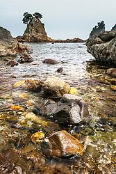 Minokake Rocks, Izu Peninsula, Japan