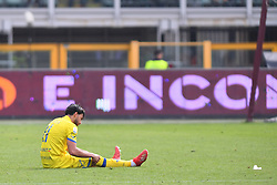 March 3, 2019 - Torino, Torino, Italia - Foto Claudio Grassi/LaPresse.03 marzo 2019 Torino (TO) Italia.sport .calcio.Torino vs ChievoVerona - Campionato di calcio Serie A TIM 2018/2019 - Stadio Olimpico Grande Torino..Nella foto: Chievo delusione..Photo Claudio Grassi/LaPresse.March 03, 2019 Turin (TO) Italy.sport .soccer.Torino FC vs AC ChievoVerona - Italian Football Championship League Serie A TIM 2018/2019 - Olimpico Grande Torino Stadium..In the pic: Chievo delusion (Credit Image: © Claudio Grassi/Lapresse via ZUMA Press)