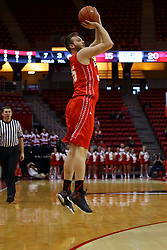 26 November 2016:  Greg Williams for three during an NCAA  mens basketball game between the Ferris State Bulldogs the Illinois State Redbirds in a non-conference game at Redbird Arena, Normal IL
