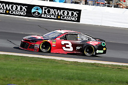 July 21, 2018 - Loudon, NH, U.S. - LOUDON, NH - JULY 21: Austin Dillon, driver of the #3 Dow Chevy during practice for the Monster Energy Cup Series Foxwoods Resort Casino 301 race on July, 21, 2018, at New Hampshire Motor Speedway in Loudon, NH. (Photo by Malcolm Hope/Icon Sportswire) (Credit Image: © Malcolm Hope/Icon SMI via ZUMA Press)