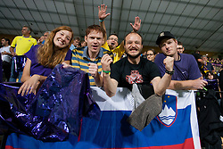Fans during Play-offs for Champions League between NK Maribor (Slovenia) and GNK Dinamo Zagreb (Croatia), on August 28, 2012, in Maribor, Slovenia. (Photo by Matic Klansek Velej / Sportida.com)