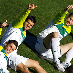 20100614: World Cup South Africa 2010, Training session of Slovenia day after winning Algeria