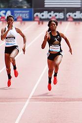 Samsung Diamond League adidas Grand Prix track & field; Dream 100 meters, High School Girls, Shayla Sanders