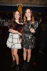 Left to right, Elisabeth Dana and Bogusia Prusik at the SheInspiresMe Dance in aid of Women for Women International held at the Café de Paris, 3 Coventry Street, London England. 25 January 2017.