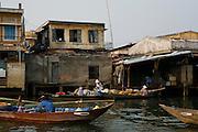 Hoi An, Vietnam. March 14th 2007..Bank of the river Thu Bon.