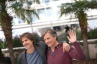 Walter Salles, Viggo Mortensen, at the On The Road photocall at the 65th Cannes Film Festival France. The film is based on the book of the same name by beat writer Jack Kerouak and directed by Walter Salles. Wednesday 23rd May 2012 in Cannes Film Festival, France.