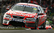 5-SPORT.Paul Kane (Getty Images).Jamie Whincup of Team Vodafone drives during race three for round four of the V8 Supercars Championship Series at Barbagallo Raceway.