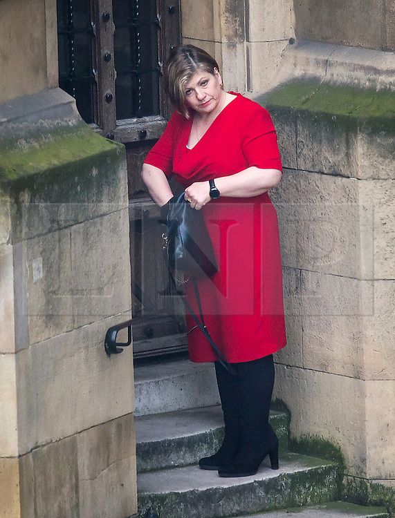 © Licensed to London News Pictures. 05/01/2016. London, UK. Labour MP EMILY THORNBERRY at the Houses of Parliament in Westminster, London on the day that Jeremy Corbyn is expected to announce a shadow cabinet reshuffle. Photo credit: Ben Cawthra/LNP