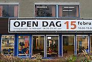 Nederland, Nijmegen, 15-1-2014Middelbare scholen doen aan werving van nieuwe leerlingen dmv een open dag of een aantrekkelijke presentatie.Foto: Flip Franssen/Hollandse Hoogte