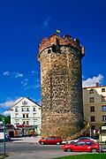 Brama Górna zw. Basztą Kowalską, Złotoryja, Polska<br /> Kowalska tower in Złotoryja, Poland