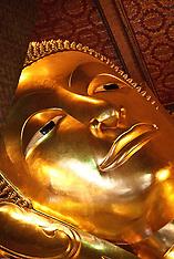The Reclining Buddha, Wat Pho, Bangkok, Thailand